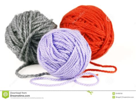 Or Yarn Balls Of Purple Orange And Grey Yarn Or Wool Stock Photos Image 25498783