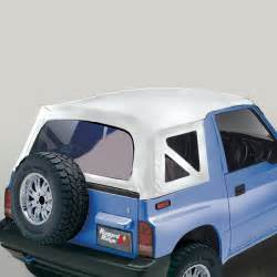 98 Jeep Wrangler Soft Top Replacement Soft Top Rugged Ridge Factory Replacement White Denim