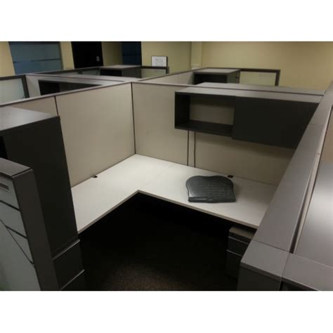 Office Desk Pods Knoll Grey Office Systems Furniture Desks Cubicles Pods