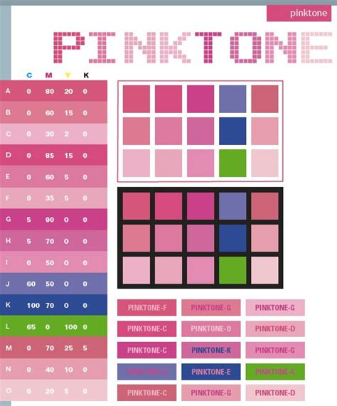 color code for pink 17 best ideas about cmyk color chart on