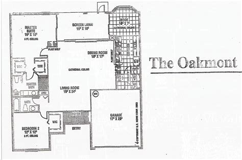 heritage pines oakmont floor plan