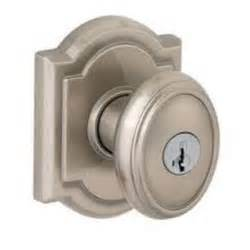 brushed nickel door knobs