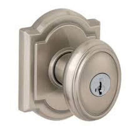 brushed nickel door knobs