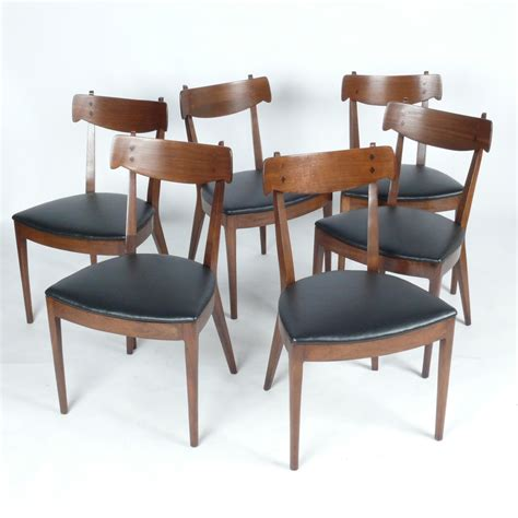 Dining Chair Set Of 6 Set Of 6 Drexel Declaration Dining Chairs At City Issue