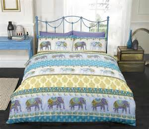 King Size Duvet Covers India Indian Inspired Quilt Duvet Cover Pillowcase Bedding Bed Sets 3 Sizes Ebay