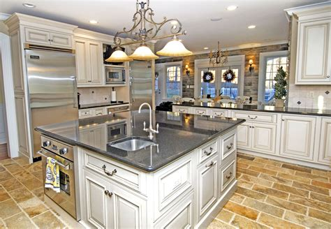 Kitchen Island For Small Kitchens - kitchen classy farmhouse kitchen with white kitchen cabinet and black floor also black kitchen