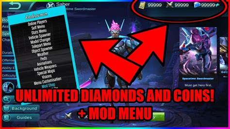 mobile legend hack apk mobile legends hack apk new working no root mod menu
