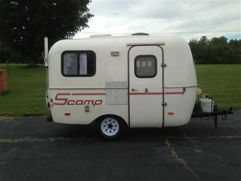 small lightweight travel trailers with bathroom 1996 sc 13 lite weight fiberglass travel trailer cer