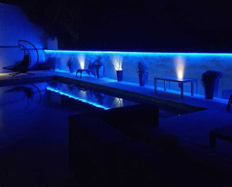 Residential Led Strip Lighting Projects From Flexfire Leds Exterior Led Light Strips