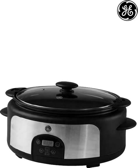ge 3 crock cooker buffet ge programmable crock pot manual