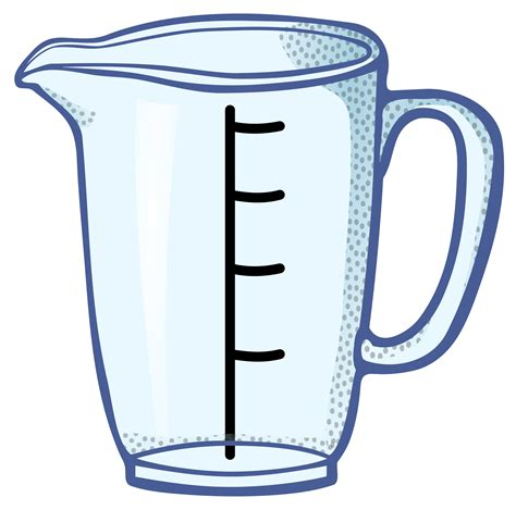 measuring cup clipart clipart measuring cup coloured