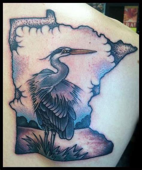 blue heron tattoo great blue heron jason walstrom inspiration