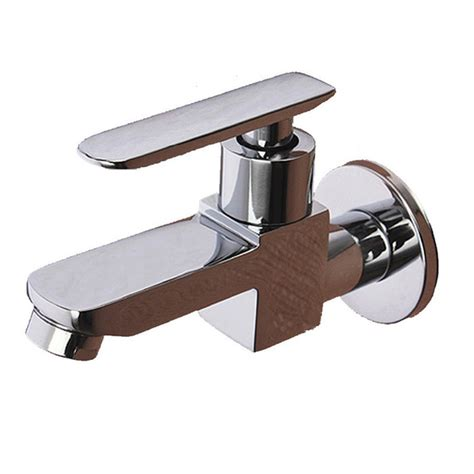 1 2 single cold square wall mounted basin faucet