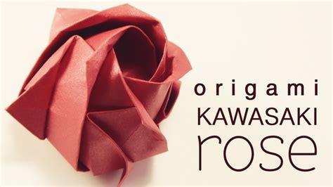 How To Make An Origami Kawasaki - origami kawasaki 183 how to make an origami flower