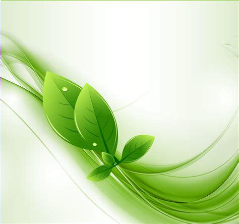 imagenes vectoriales para ai hojas de eco y la onda verde del vector vector gratis