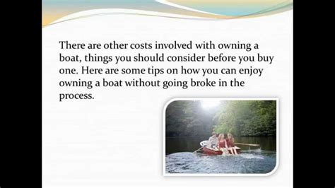 cost of owning a boat the joy and cost of owning a boat youtube