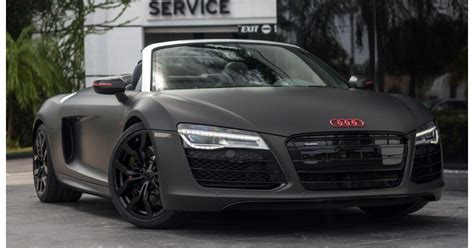 audi r8 black matte www pixshark images galleries