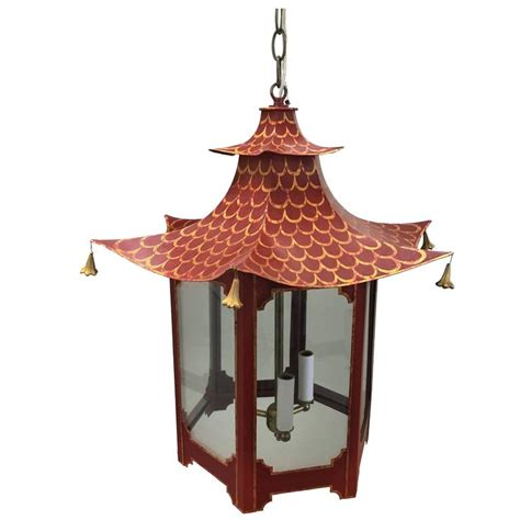 Pagoda Chandelier Custom And Gold Chinoiserie Pagoda Chandelier At 1stdibs