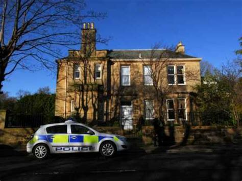 goodwin house sir fred goodwin house targeted by vandals youtube