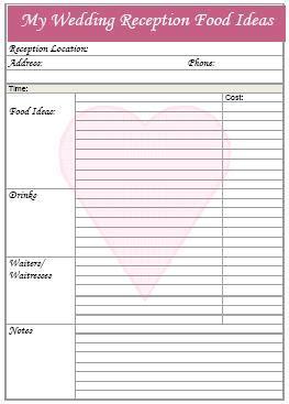 free printable wedding planning tools 7 best images of printable wedding planning tools