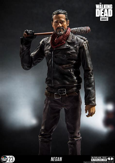 the figure new photos of the walking dead 7 inch scale negan the
