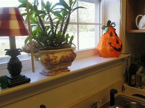 Kitchen Window Sill Decorating Ideas Window Sill Ideas Kitchen Decor Ideas