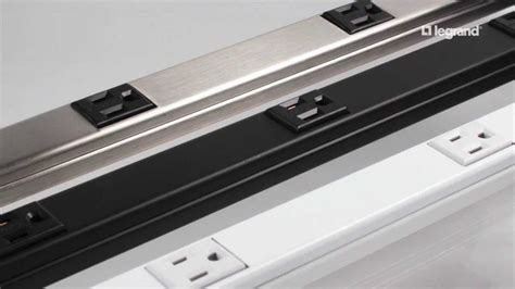 cabinet electrical outlets plugmold wiremold experience the plugmold multi outlet system