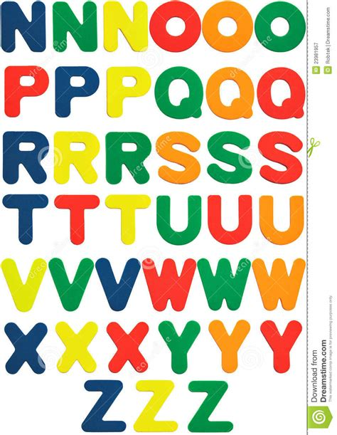 Time To Play Grabbers Foam Book abc letters foam cubes and chalks stock photo