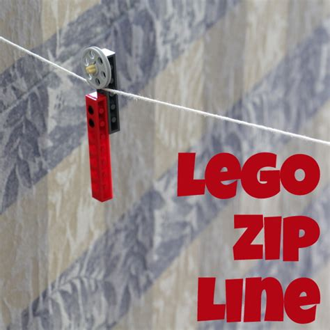 how to make a zip line in your backyard lego zip line the crafty mummy
