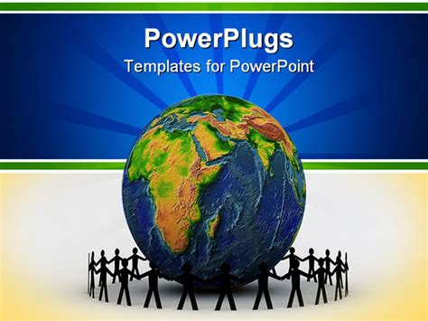 free templates for powerpoint globalization paper people around globe powerpoint template background