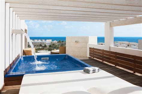 plunge pool room the beloved hotel playa cancun mexico mulberry travel