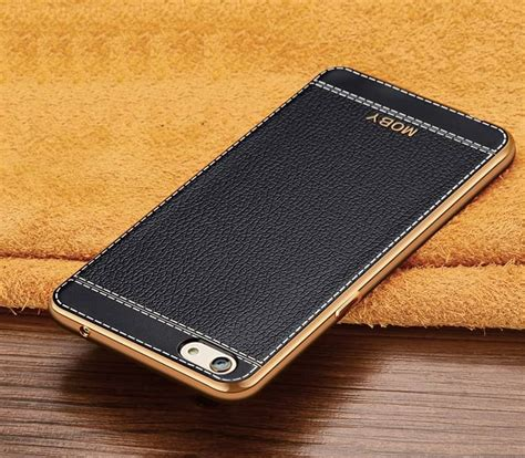 Softcase Leather Samsung E5 Gold vaku 174 vivo v5 v5s leather stiched gold electroplated soft tpu back cover screen guards india
