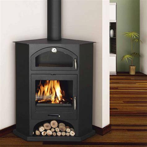 wood burning corner fireplaces bronpi atenas corner wood burning cooking stove