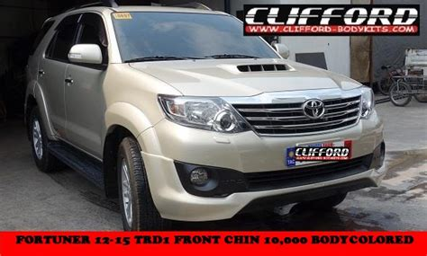 Ready Emblem Fortuner Sportivo welcome clifford paint and bodykits