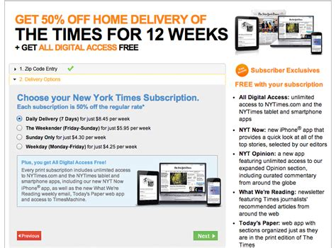 how much is a new york times subscription it takes a