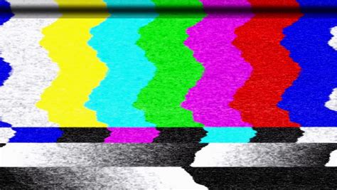 test pattern noise ntsc motion 831 tv color bars malfunction with tv noise