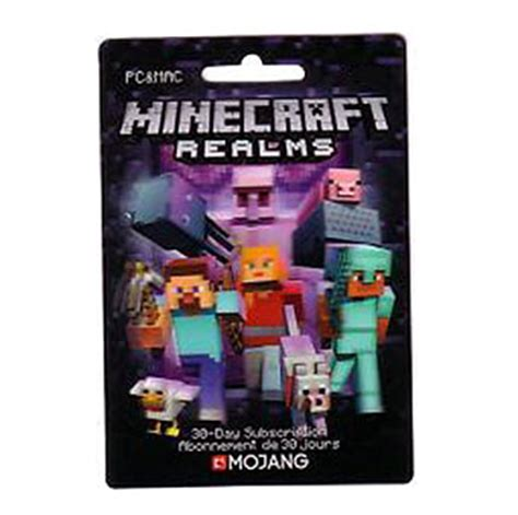 minecraft realms gift card homeminecraft - Minecraft Realms Gift Card