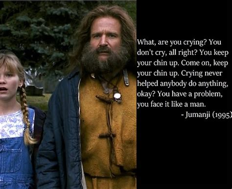 jumanji movie lines 22 lessons we learned from robin williams gurl com