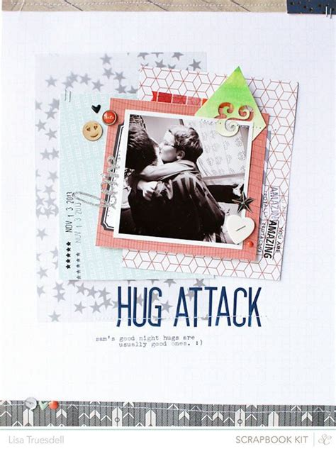 Frugal Scrapbooking 2 9 by Hug Attack By Gluestickgirl At Studio Calico Scbluenote