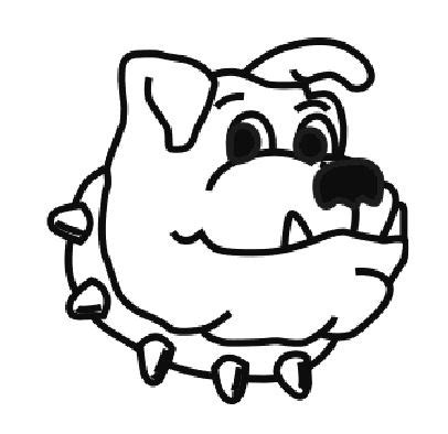 ga bull dogs colouring pages