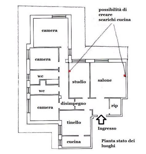 Larghezza Corridoio Abitazione by Appartamento 150 Mq Idea Di Progetto