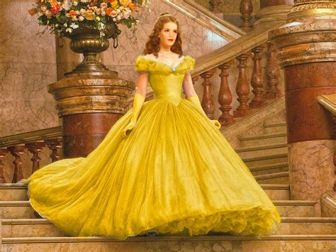 emma watson as belle emma as belle beauty and the beast 2017 photo