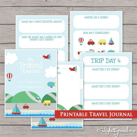 printable road trip journal 34 best images about travel scrapbook on pinterest trips