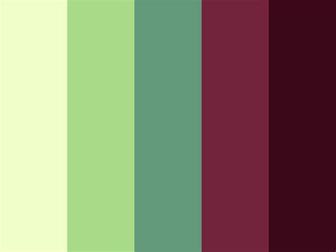 green palette colors lovely color palette green light maroon pastel pink