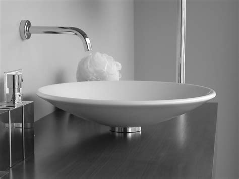 designer bathroom sinks sink bathroom milforde porcelain semi recessed sink