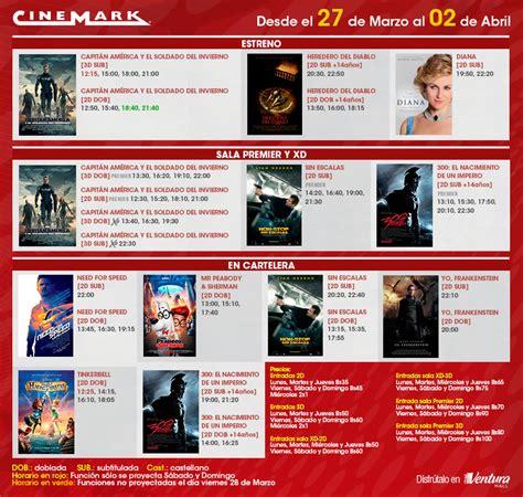 cartelera de cune horarios cinemark horarios cinemark cartelera de cinemark