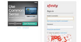 xfinity email sign in