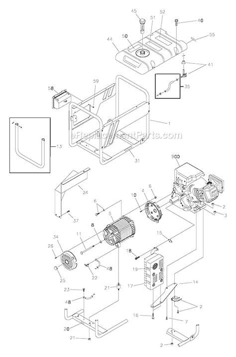 troy bilt generator 5550 wiring diagram troy bilt wiring