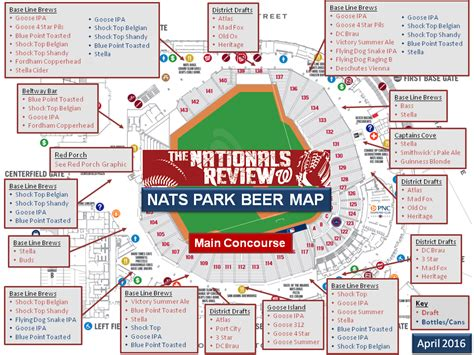 washington dc map nationals stadium the nationals park guide the nationals review