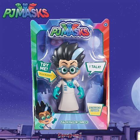 pj masks figures pj masks deluxe talking romeo figure
